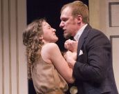 Jennifer Theby and Jim Butz as Isabella and Angelo