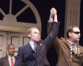 Jim Butz and Jason Cannon as Angelo and the Duke